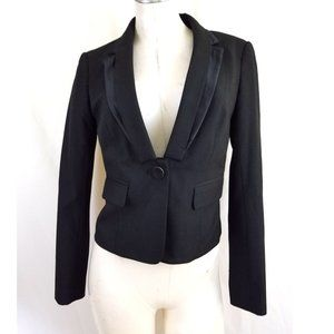 The Limited Size 4 Black Cocktail Blazer